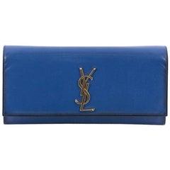 Saint Laurent Classic Monogram Clutch Leather Medium