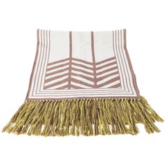 Louis Vuitton Paris Long Scarf with Fringe