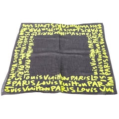 Louis Vuitton Stephen Sprouse Graffiti Scarf