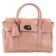 Mulberry Bayswater Convertible Satchel Patent Small