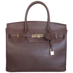 Zumpolle vintage brown leather bag