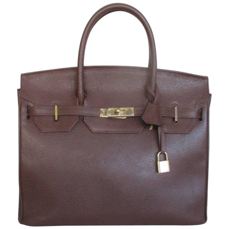 Zumpolle vintage brown leather bag