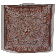 hermes cashmere silk scarf les jardins d'armenie