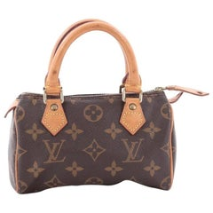 Louis Vuitton Speedy Mini HL Handbag Monogram Canvas