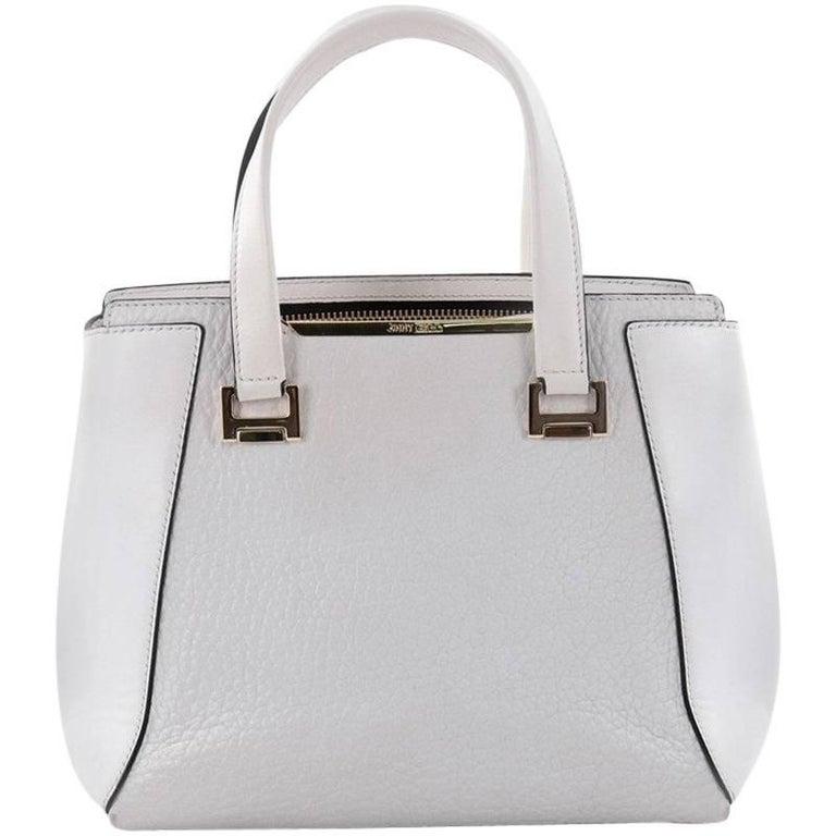 Jimmy Choo Alfie Handbag Leather Large For Sale