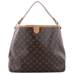 Louis Vuitton Delightful Handbag Monogram Canvas MM i