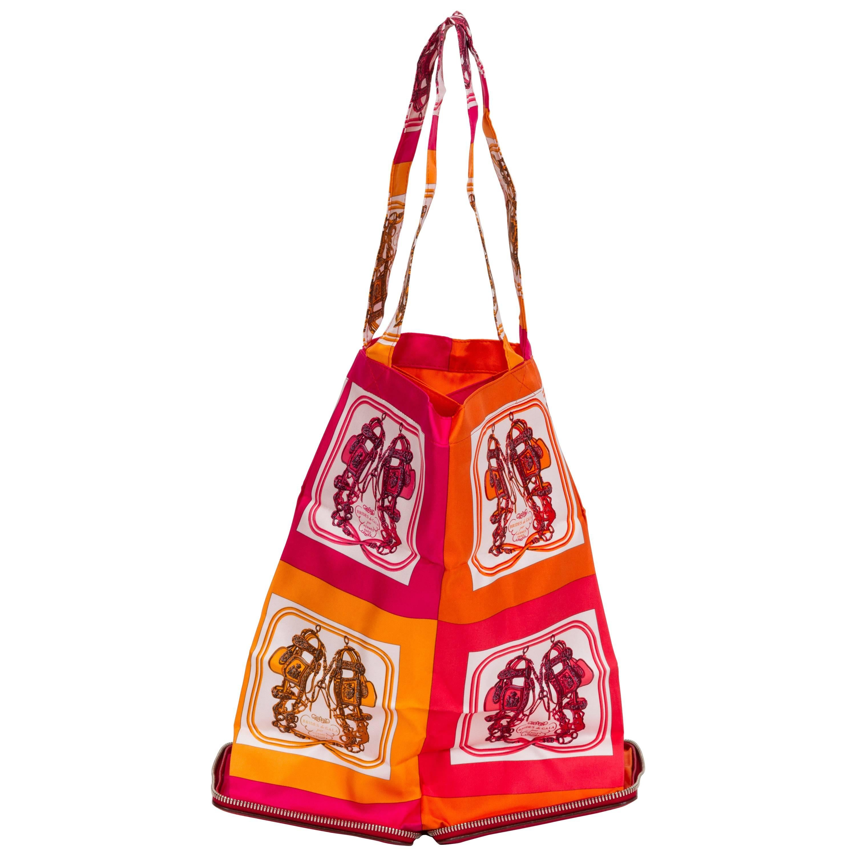 Hermès Red Silky Pop Bag