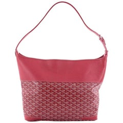 Goyard Grenadine Handbag Coated Canvas with Leather