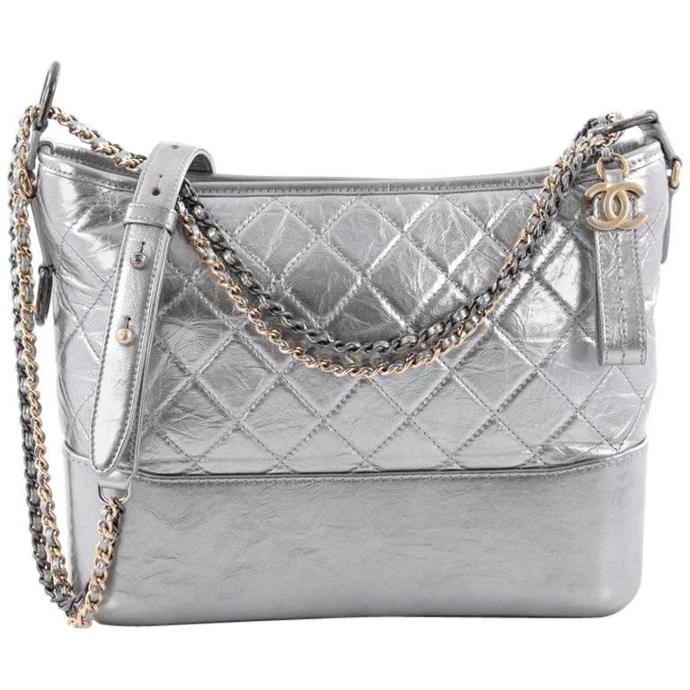 c7ad9d858564 Chanel Gabrielle Hobo Quilted Aged Calfskin Medium at 1stdibs