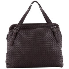 Bottega Veneta Double Compartment Tote Intrecciato Nappa Large