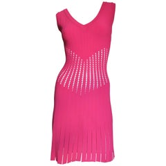 Alaia Dress With Perforations