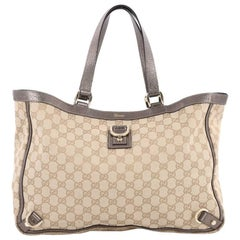 Gucci Abbey D Ring Tote GG Canvas Large