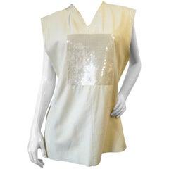 1980s Gianni Versace Calfskin Sequin Vest