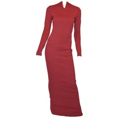 Azzedine Alaia Bosycon Dress Gown