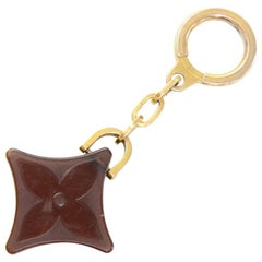 Louis Vuitton Brown Monogram Motif Plastic Key Holder
