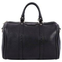 Gucci Joy Boston Bag Leather with Microguccissima Medium