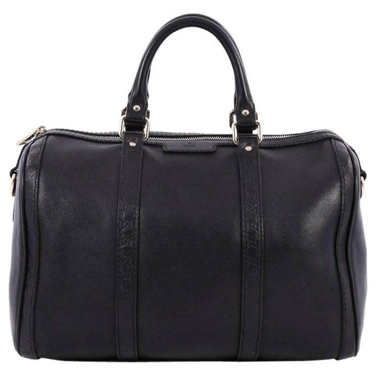 8c9d6466749c Gucci Joy Boston Bag Leather with Microguccissima Medium at 1stdibs