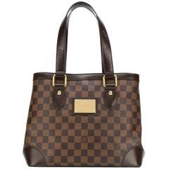 Louis Vuitton Brown Canvas Damier Ebene Shoulder Bag