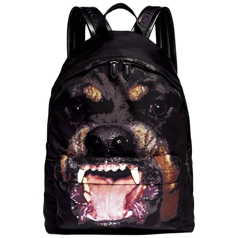 Givenchy Black Rottweiler Backpack Bag at 1stdibs 63c2e6b04ddd1