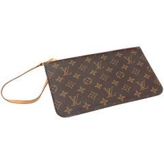 Louis Vuitton Monogram Canvas Pouch For Neverfull Bag