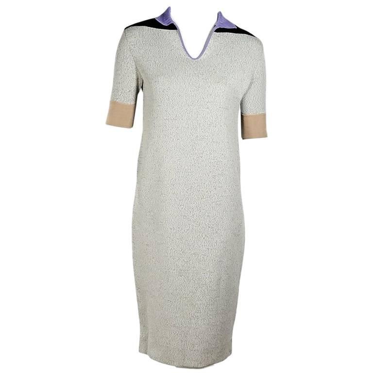 Multicolor Balenciaga Knit Dress