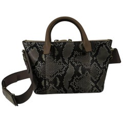 New never used Chloe  Baylee bag in Leather and Snake