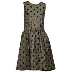 Bronze Marc By Marc Jacobs Polka-Dot Dress