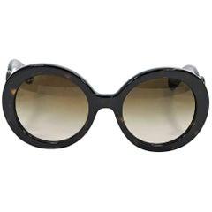 Brown Prada Baroque Sunglasses