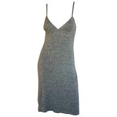 Miu Miu Grey knit tank dress