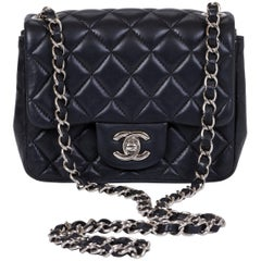 Chanel Mini Classic Black Crossbody Flap