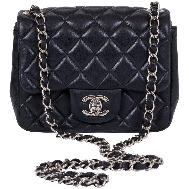 Chanel Mini Classic Black Crossbody Flap