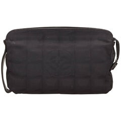 Chanel Black New Travel Line Pouch