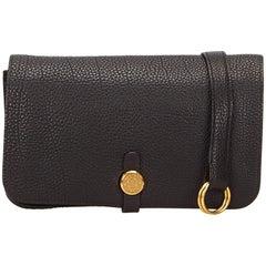 Hermes Black Dogon Belt Bag