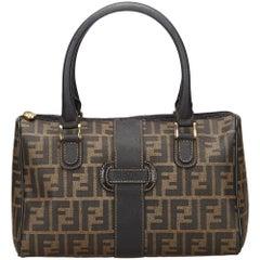 Fendi Brown Zucca Handbag