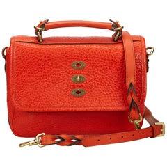 Mulberry Orange 2 Way Leather Handbag