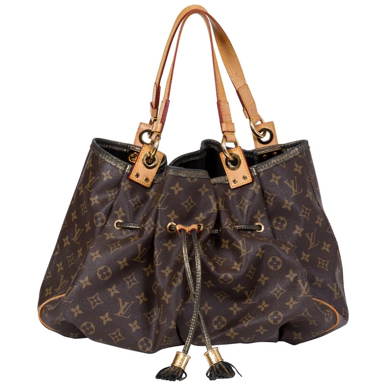 Vuitton Monogram Canvas Lim. ed. Madonna 2009 Gold Detail Bag