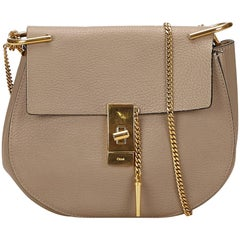 Chloe Gray Medium Drew Bag