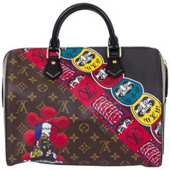 New Vuitton Kabuki Limited Edtion Speedy 30 Bag