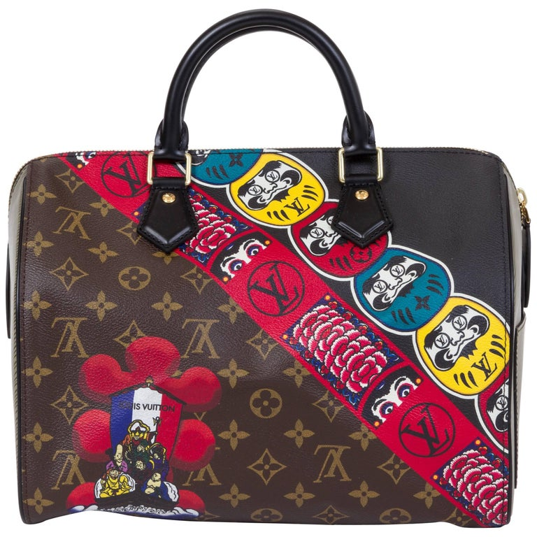 d940bc579d New Vuitton Kabuki Limited Edtion Speedy 30 Bag For Sale at 1stdibs