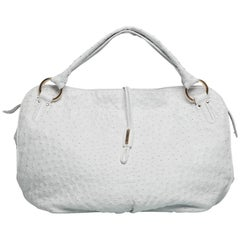 "Céline ""Bittersweet"" Genuine Ostrich Leather Shoulder Bag Limited Edition 2007"