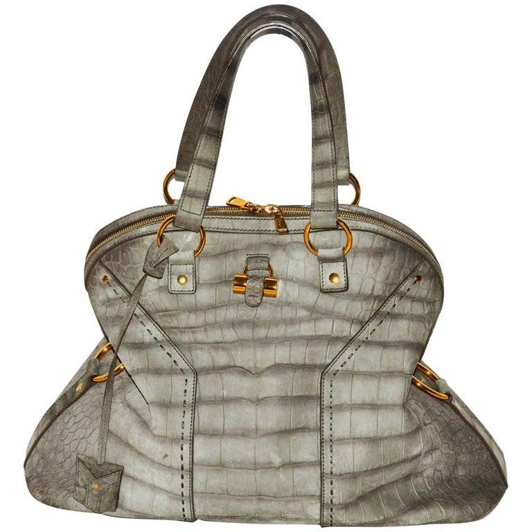 Statement YSL Oversized Top Handle Bag