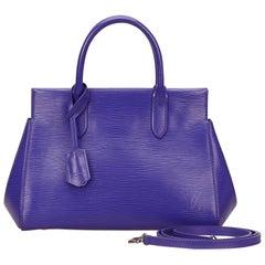 Louis Vuitton Purple Epi Marly BB