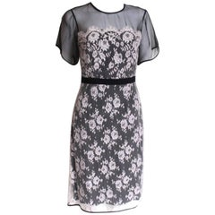 Erdem Heidi Organza-Lace Dress UK 10