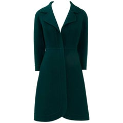Miguel Rueda Couture Wool Coat