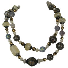 GIORGIO ARMANI beaded Necklace New, Never worn  1990s