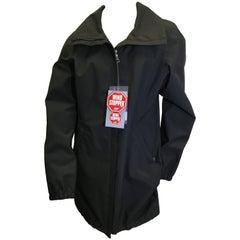 Prada Black NWT Wind Breaker Jacket