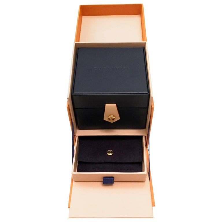New Louis Vuitton Box for Ring Leather