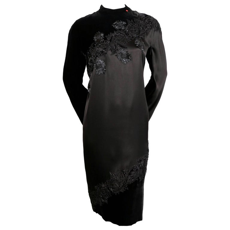1960 39 s pierre balmain elaborately beaded silk and satin for 1960 s haute couture