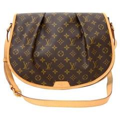 Louis Vuitton Menilmontant MM Monogram Canvas Shoulder Bag