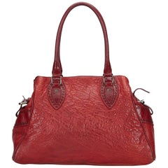 Fendi Red Leather Etniko